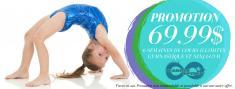 6 semaines de cours illimités pour 69$! Laval City Gymnastics Centres _small