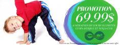 6 semaines de cours illimités pour 69$! Laval City Gymnastics Centres 2 _small