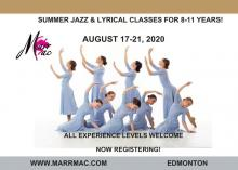 SUMMER FINE ARTS CLASSES FOR 3-7 YEAR OLDS Edmonton City Ballet Dancing Classes & Lessons 2 _small