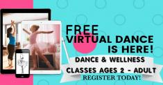 FREE VIRTUAL DANCE CLASSES - SUMMER 2020 Scarborough Ballet Dancing Classes & Lessons _small