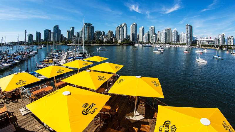 Mahony & Sons Pubs at Canada Place and False Creek