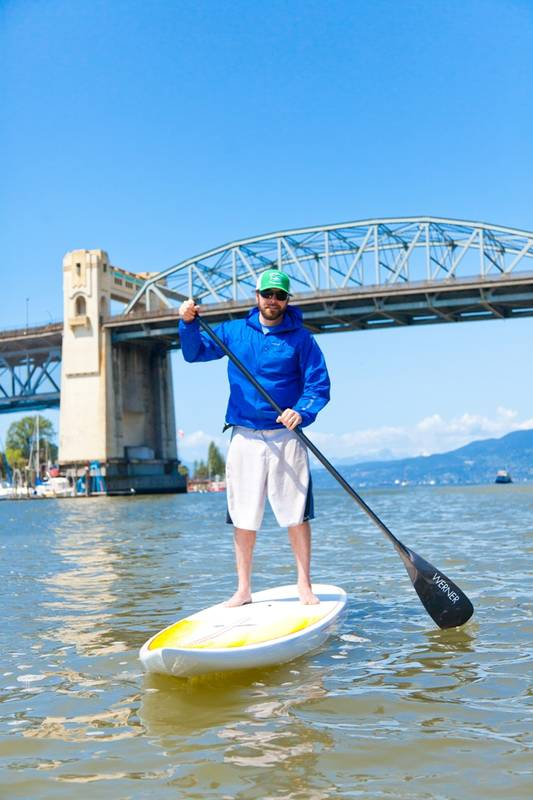 2 for 1 Paddle Boarding at Granville Island