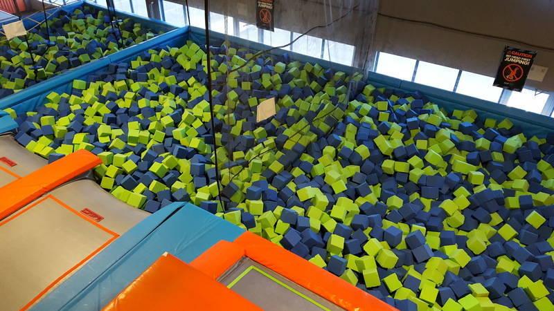 The Foam Pit!