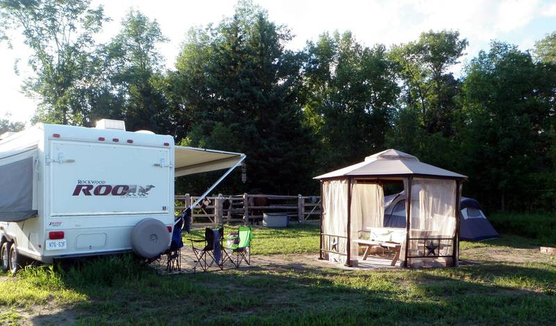 Equestrian Campsite At Horse Country Ottawa Valley
