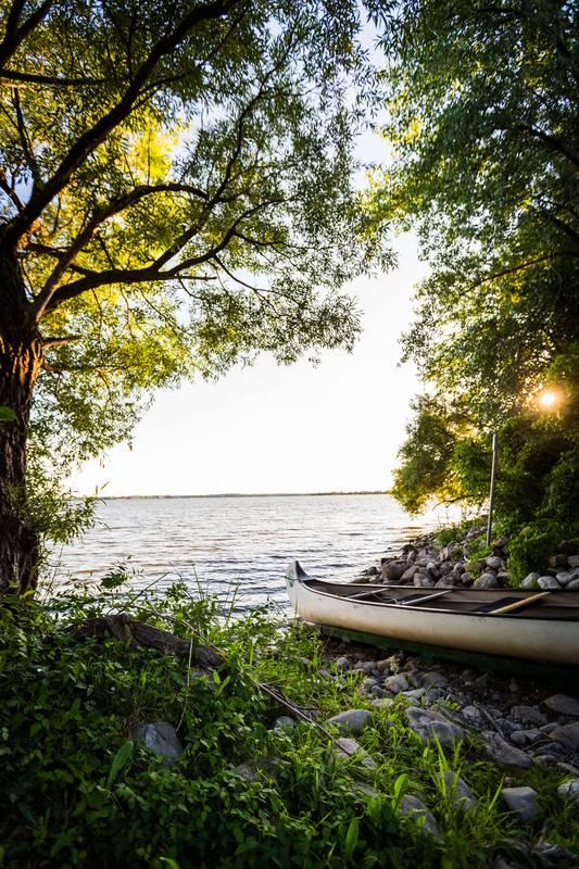 canoe, kayak, nature