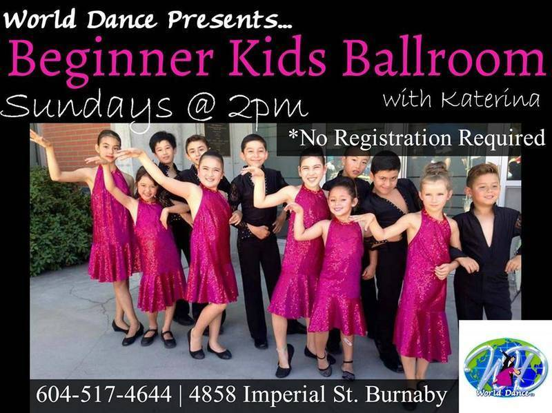 Kids Ballroom with Ekaterina