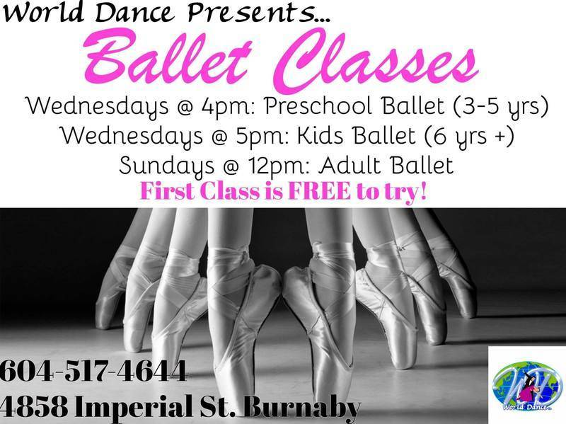 Kids Ballet with Ciprian