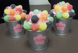 We also create custom candy favours