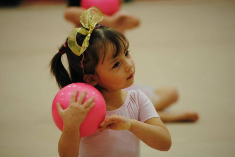 Recreational Gymnast (4-5 year old class)