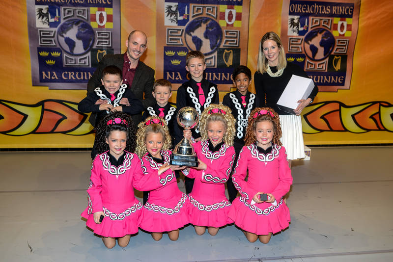 2nd in the World Irish Dancing Championships