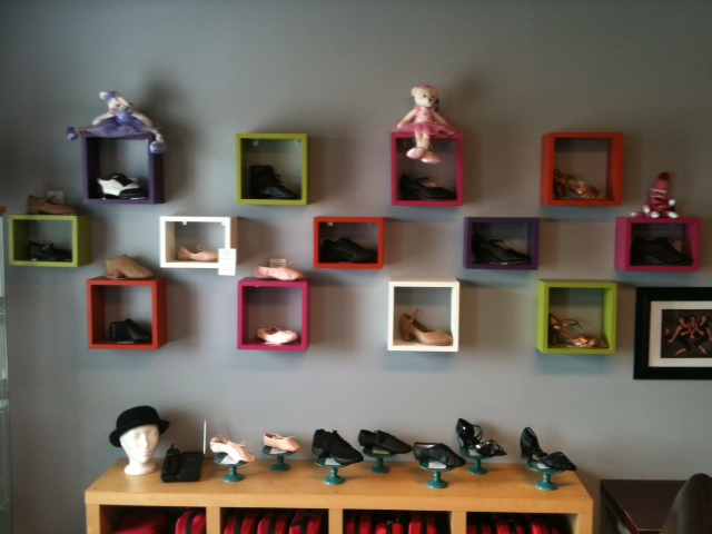Dance shoes are available for ballet, jazz, hip hop, ballroom, etc.