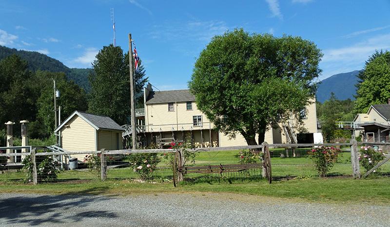 5 acre BC Heritage Site