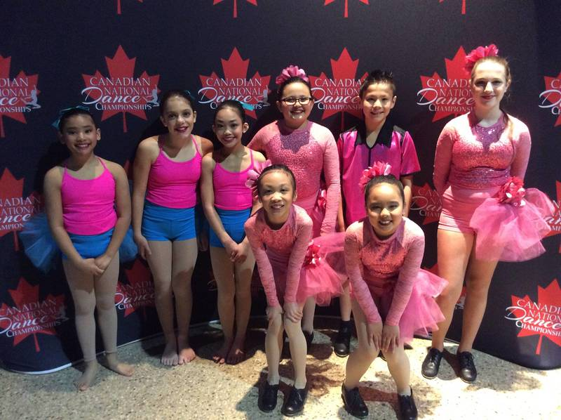 Dancers at CNDC Winnipeg Dance Competition