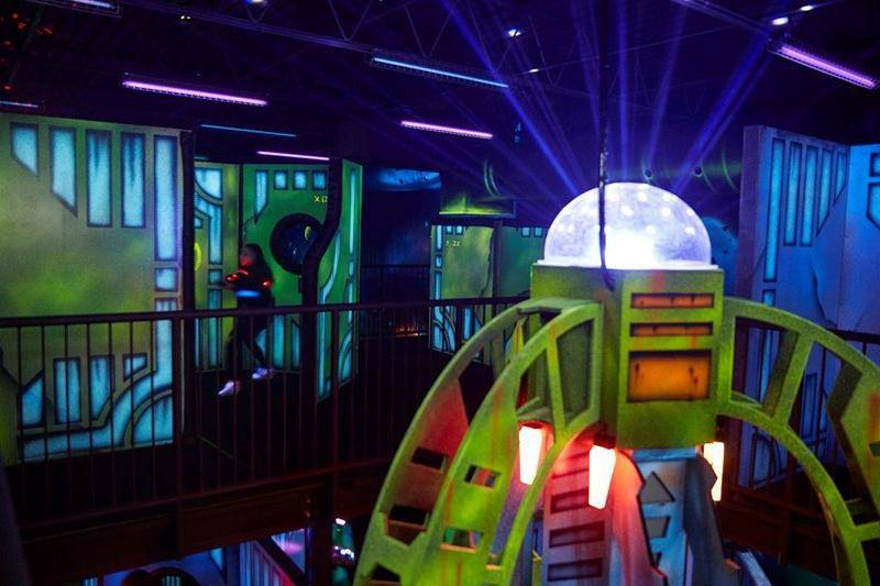 2 Level Laser Tag Arena