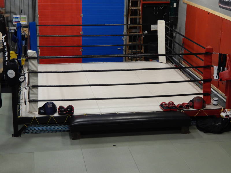 12 by 12 Ring for sparring and one on one pad drills