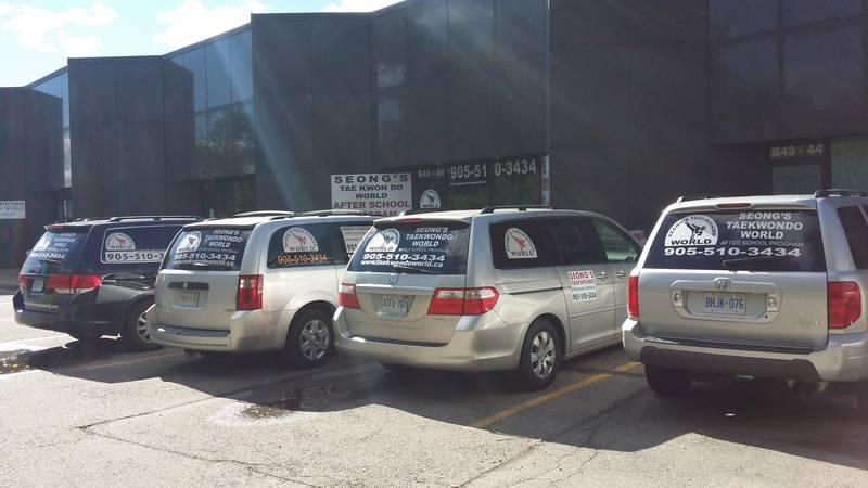 Oakville After School Programs Vans