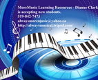 Moremusic Learning Resources