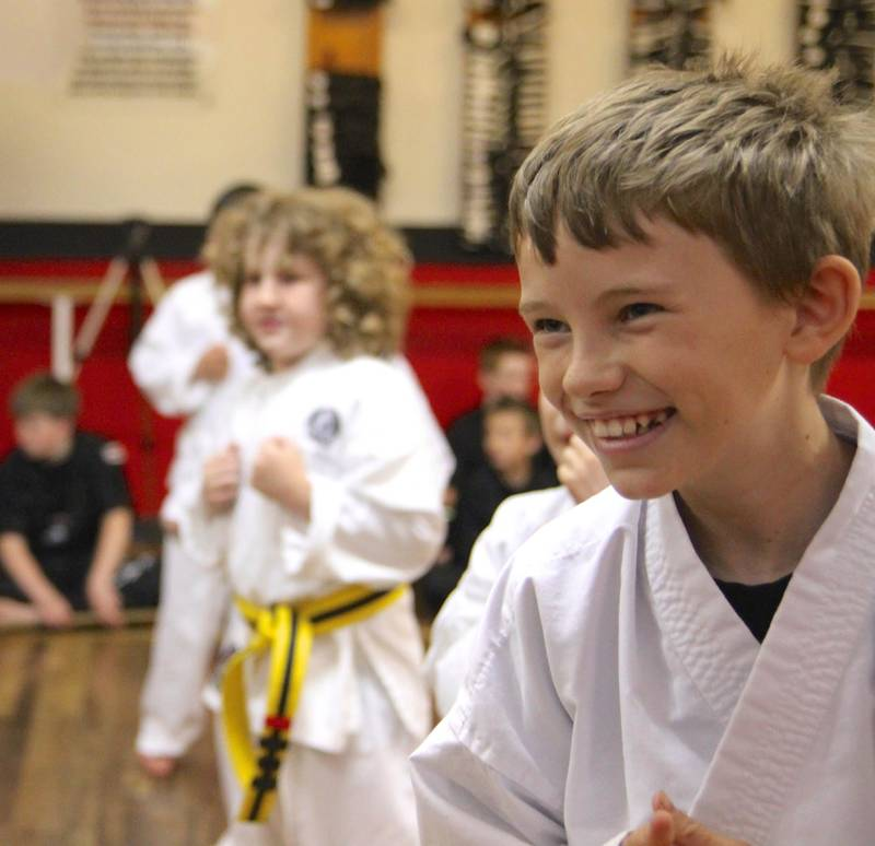 Child Enjoy Karate Lessons