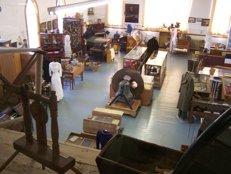 WHHS Museum interior