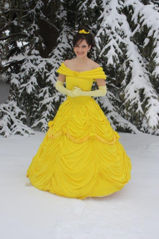 Have a Belle or other Princess make your party a breeze!