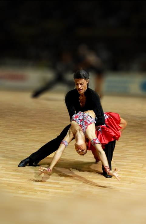 Latin American dance Rumba