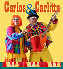 Carlos and Carllitta Clowning