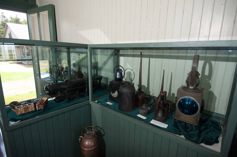 One of the permanent exhibits at Elmira