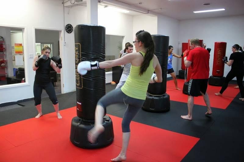 Toronto Kickboxing class