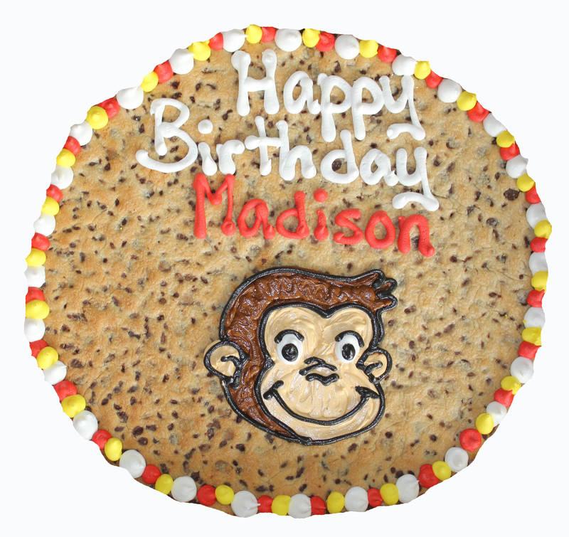 Cookiegrams Custom Art Cookie - Happy Birthday!