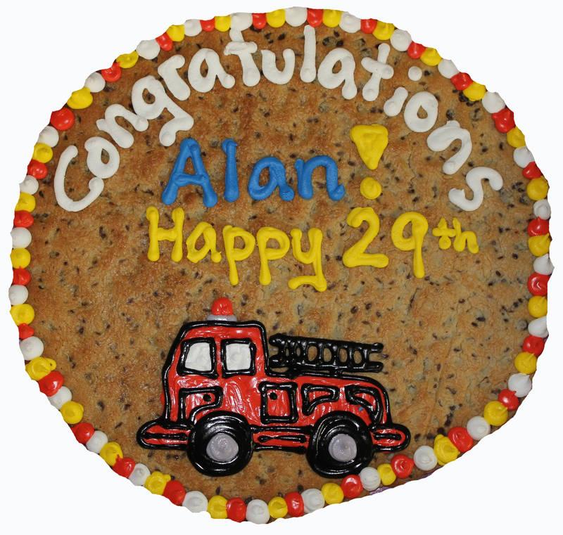 Cookiegrams Custom Art Cookie - Congratulations!