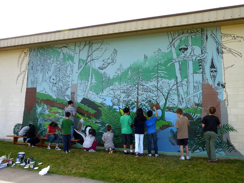 Artist In Residence - Nature Mural