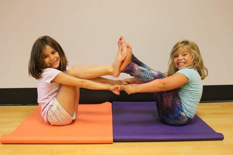 Kids Yoga Bronx Park CC Monday evening