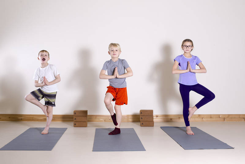 Tree Pose builds confidence