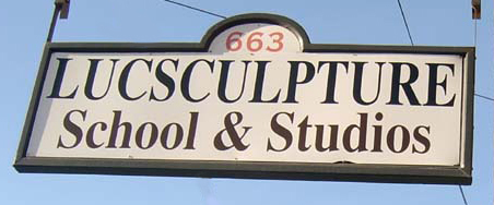 LucSculpture sign