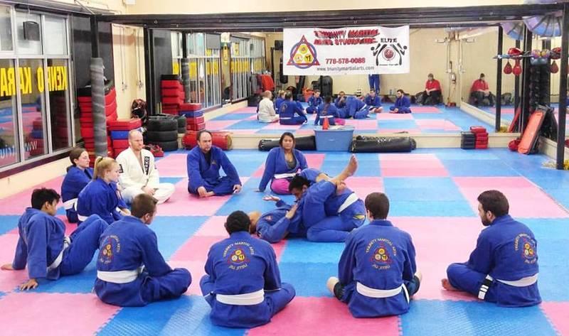 Our teens and adults Jiu Jitsu program here at Triunity. www.triunitymartialarts.com