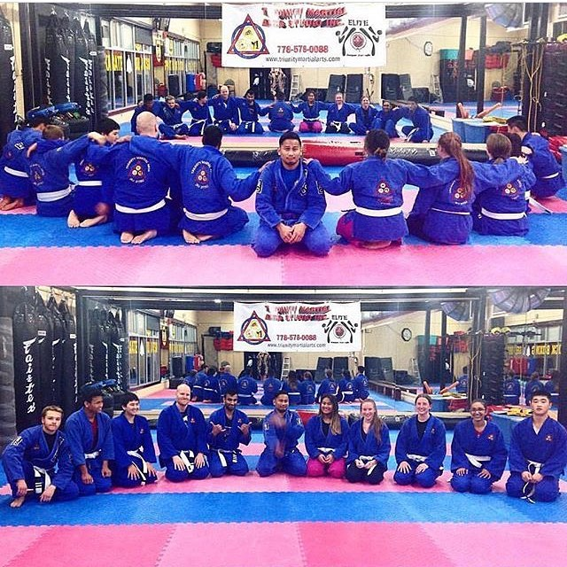 Our teens and adults Jiu Jitsu program here at Triunity www.triunitymartialarts.com