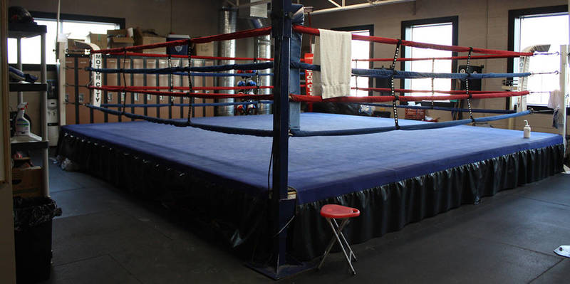 Our Ring where we hone our Skills